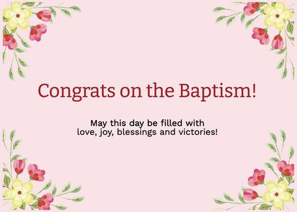 baptism card 316 floraldesign graphics
