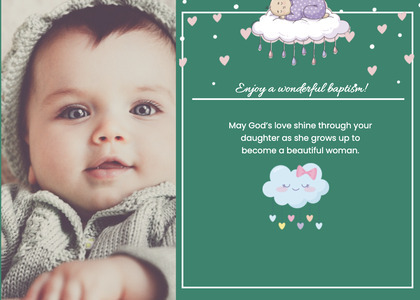 baptism card 331 person advertisement