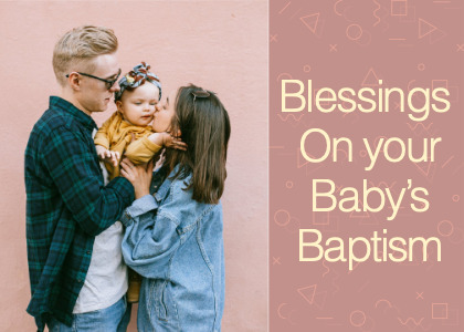 baptism card 4 person people