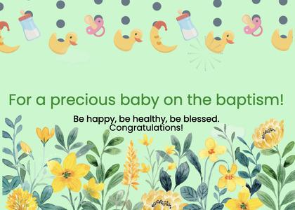baptism card 79 text graphics