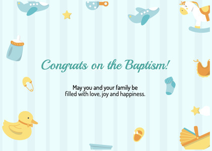 baptism card 98 text outdoors