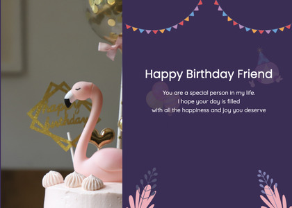 birthday card 12 poster advertisement