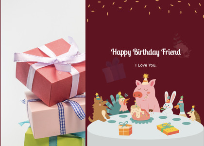 birthday card 17 box paper