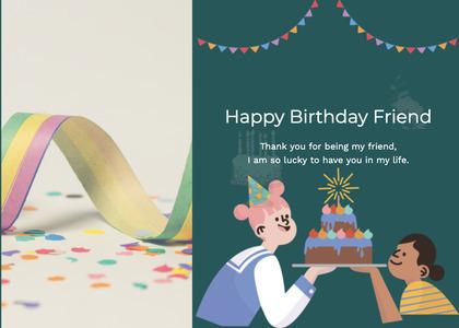 birthday card 22 poster advertisement