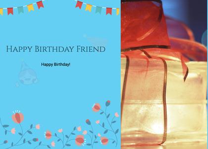 birthday card 35 homedecor text
