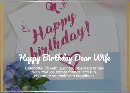 birthday card 49 text paper