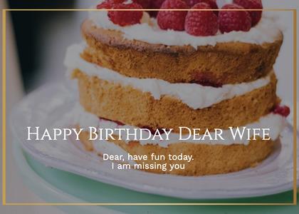 birthday card 55 plant birthdaycake
