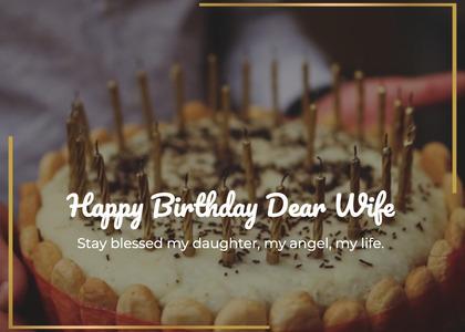 birthday card 61 birthdaycake dessert