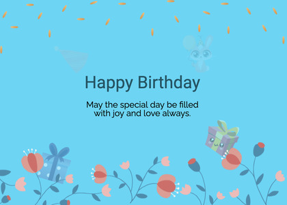birthday card 84 graphics art
