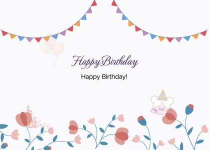 birthday card 92 envelope mail