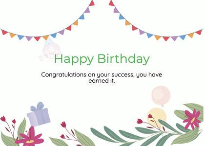 birthday card 96 graphics art