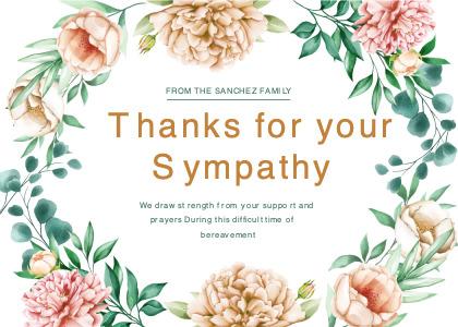 breavement card 5 floraldesign graphics