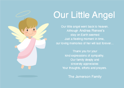 breavement card 6 art angel