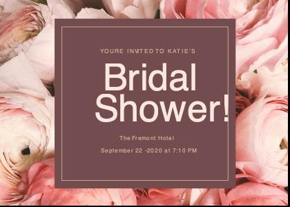bridalsshower card 1 advertisement poster