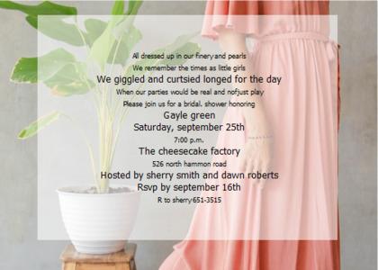 bridalsshower card 10 clothing apparel