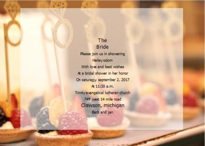 bridalsshower card 14 menu text