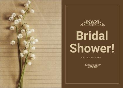 bridalsshower card 5 plant text