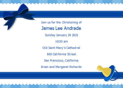 christening card 9 text drivinglicense