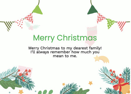 christmas card 100 graphics paper