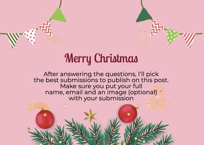 christmas card 102 tree plant