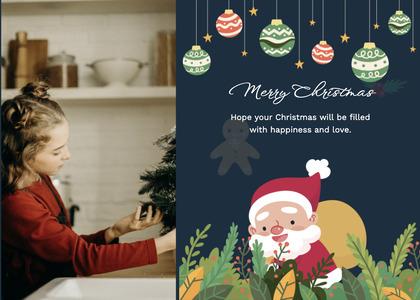 christmas card 105 person human