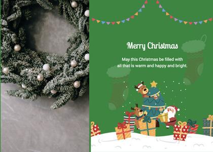 christmas card 112 tree plant