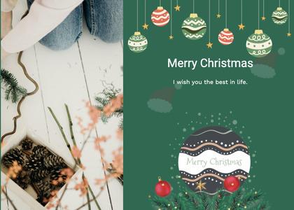christmas card 117 advertisement poster
