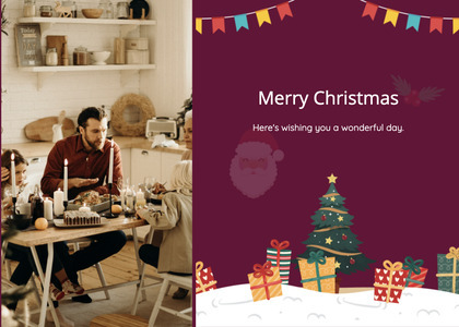 christmas card 118 person human