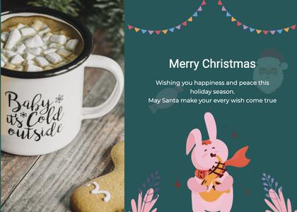 christmas card 120 coffeecup cup