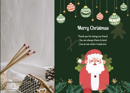 christmas card 126 advertisement poster