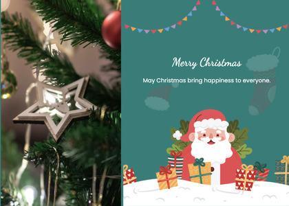 christmas card 131 tree plant