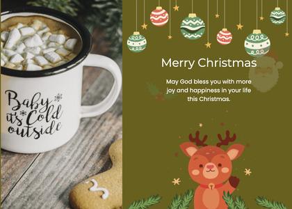 christmas card 133 coffeecup cup