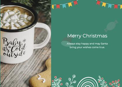 christmas card 142 coffeecup cup