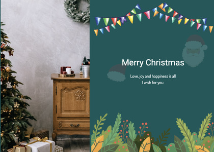 christmas card 143 advertisement poster