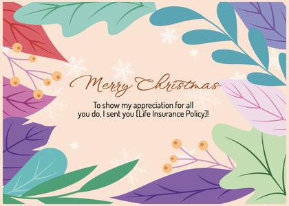 christmas card 154 graphics art