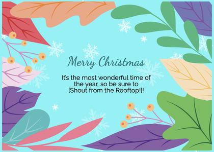 christmas card 155 graphics art