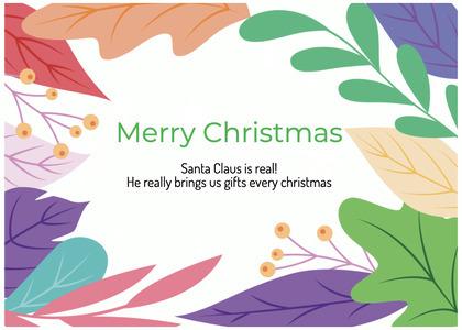 christmas card 165 graphics art