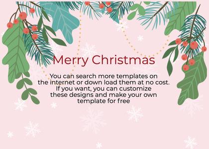 christmas card 166 advertisement flyer