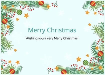 christmas card 167 graphics art