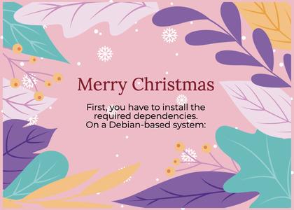 christmas card 168 flyer brochure