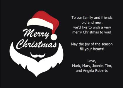 christmas card 17 text symbol