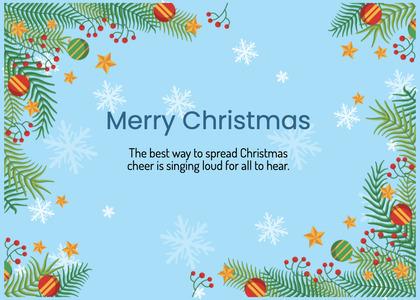 christmas card 170 advertisement flyer