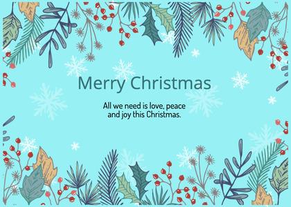 christmas card 171 graphics art