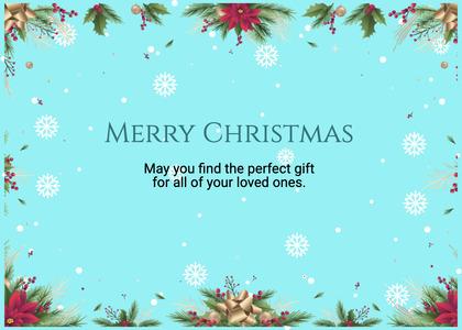christmas card 172 flyer brochure