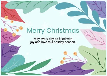 christmas card 174 graphics art