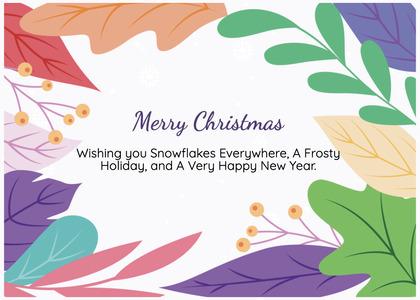 christmas card 177 graphics art