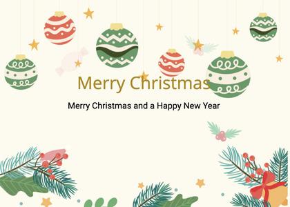 christmas card 183 graphics art