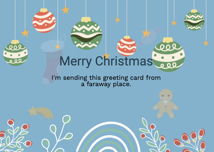 christmas card 186 graphics art