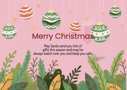 christmas card 191 advertisement paper