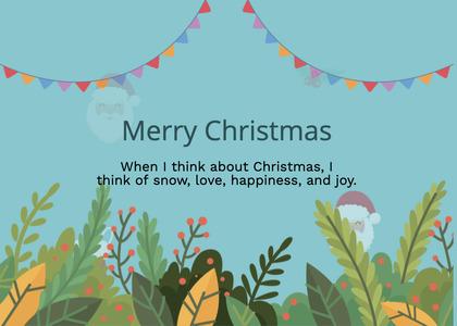 christmas card 193 graphics art